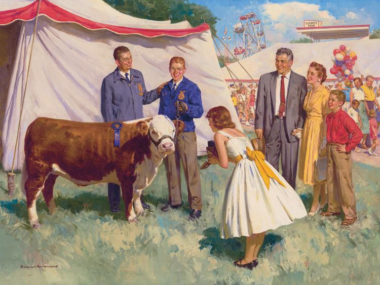 the 1951 calendar