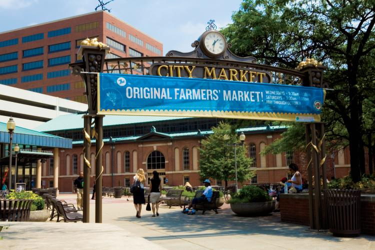 City Market Farmers Market in Indianapolis, Indiana
