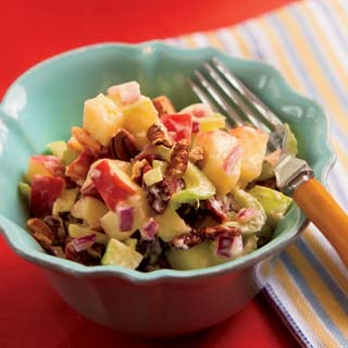 Apple Pecan Cherry Salad recipe