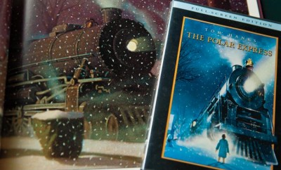 The Polar Express book and DVD