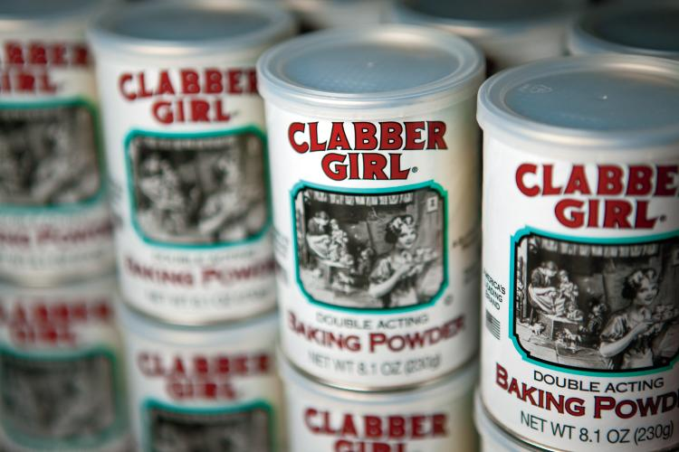 Clabber Girl baking powder in Terre Haute
