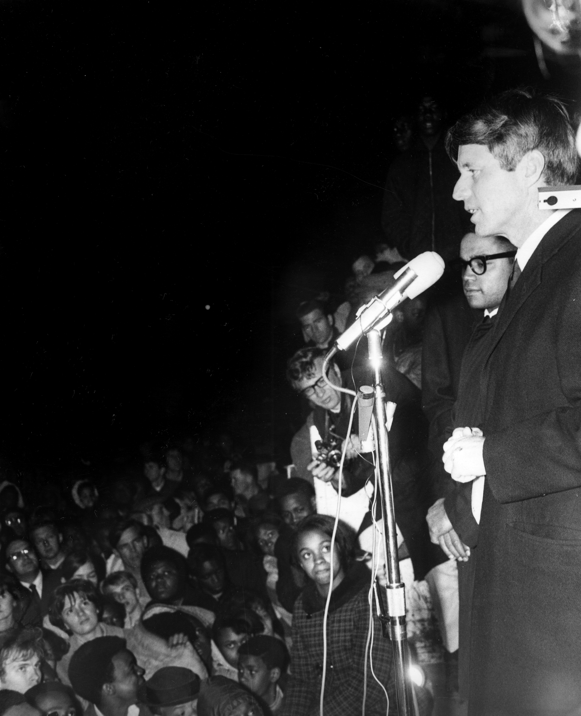 Indianapolis Recorder Collection - RFK speech 4-4-68