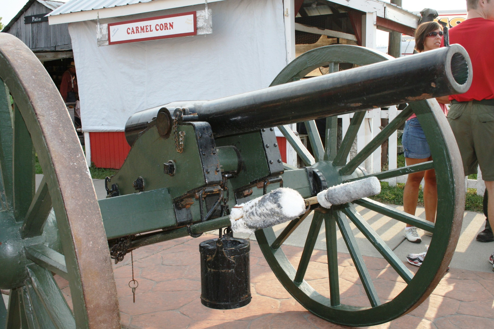 Indiana State Fair Cannon