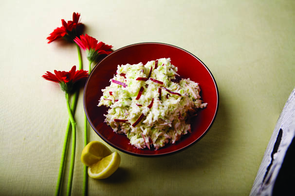 Cabbage and Apple Horseradish Slaw Recipe