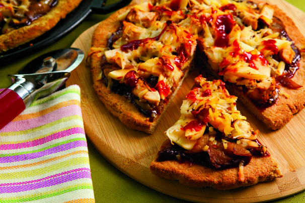 BBQ Chicken Apple Pizza Recipe