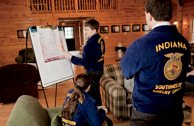 Indiana FFA Provides Leadership and Career Success