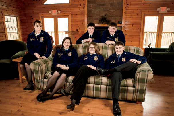 Southwestern Shelby County FFA Chapter Members