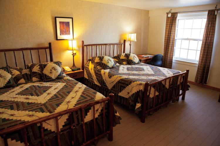 Guest Room at Spring Mill In in Mitchell Indiana