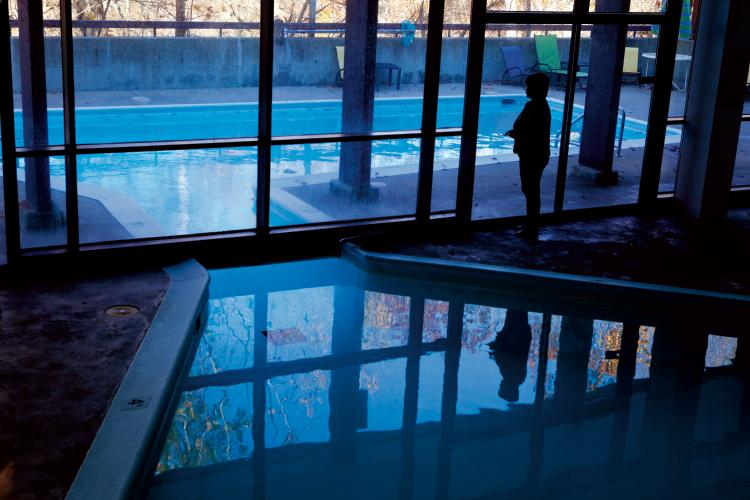 Swimming Pool at Spring Mill Inn