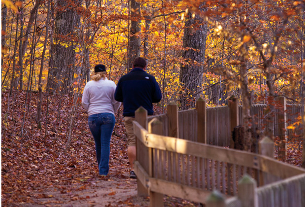 Nature Trail at McCormick's Creek State Park