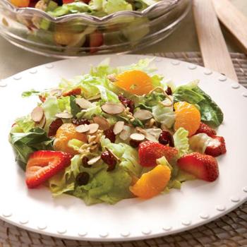 Strawberry And Mandarin Salad Recipe — Dishmaps