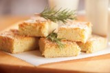 Triple Citrus Rosemary Almond Shortbread Bars