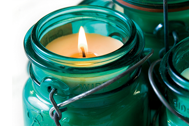 Harvest Lights Soy Candles