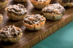 Herbed Mushroom and Gruyere Tarts