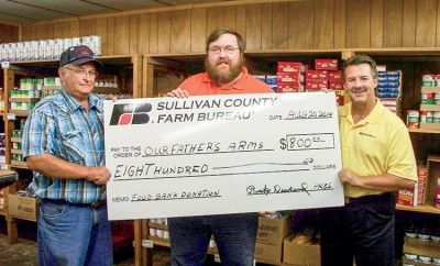Sullivan County Farm Bureau cornhole tournament