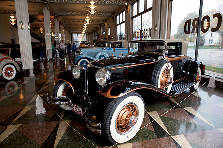 Driving Through History At The Auburn Cord Duesenberg Auto