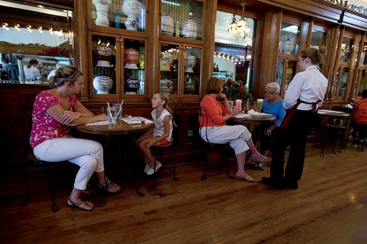 Zaharakos Ice Cream Parlor Serves Up Fizzy Business