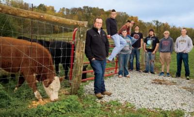 Hagerstown high school beef cattle