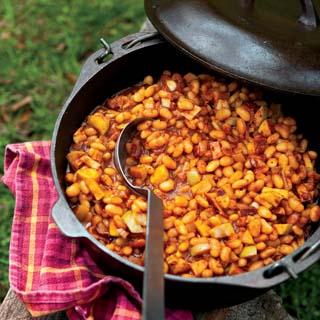 Maple Apple Baked Beans Recipe