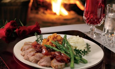Maple-Glazed Duck Breast With Cranberry Chutney