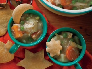 Homestyle Turkey Pot Pie Soup Recipe