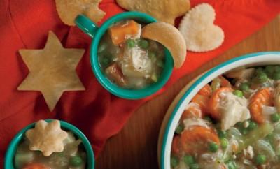 Homestyle Chicken Pot Pie Soup Recipe