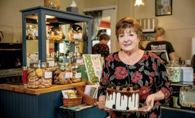 Bread Basket Cafe and Bakery, owner Judy Sexton